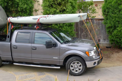Truck rack that can hold a kayak