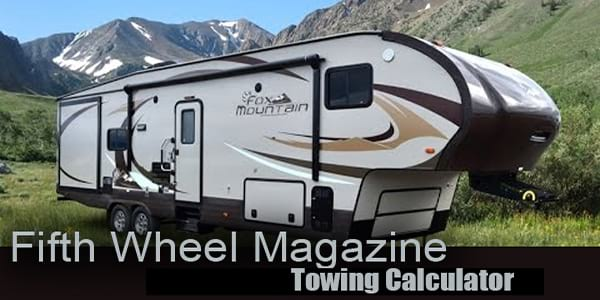 Fifth Wheel Towing Calculator