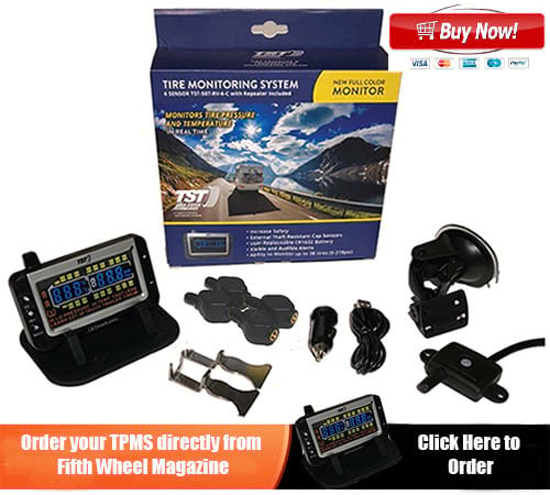 Color Tire Pressure Monitoring System TPMS
