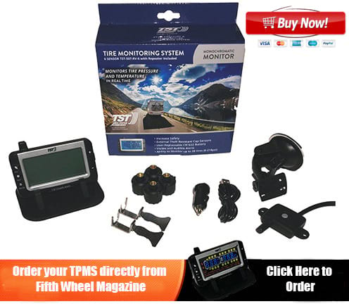 TPMS black and white monitoring system